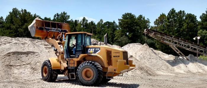CB Sand Truck Loader